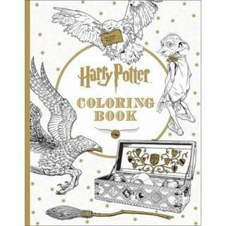 ORIGINAL Harry Potter Colouring Book