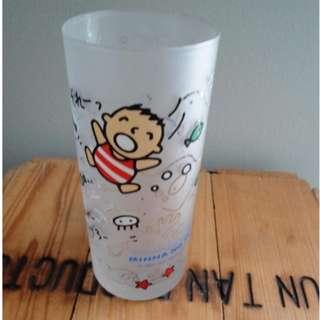 徵徵徵 圖中大口仔玻璃杯 高價