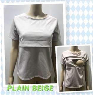 Maternity/Nursing blouse for breastfeeding mothers