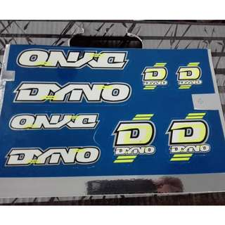 BMX Dyno Decal