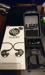 64 Audio U2 亦軒行貨 動鐵耳機