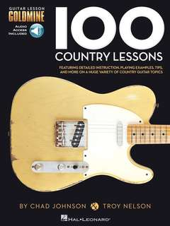 🚚 送書套 100 Country Lessons roy Nelson, Chad Johnson 鄉村吉他