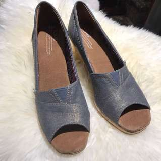 Toms Wedges Open Toe