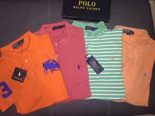 4 for Rm97 Ralph Lauren Polo Shirt Authentic Preloved