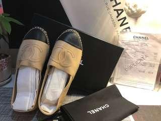 Chanel  漁夫鞋36