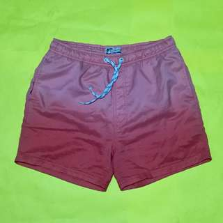Pink Ombre Swim Shorts