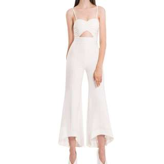Maxi Jumpsuit in White