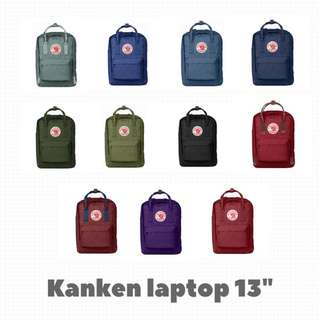 "AUTHENTIC Fjallraven kanken 13"" Laptop backpacks"