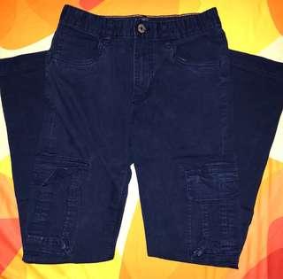GapKids Skinny Fit Cargo Pants (Elysian Blue)