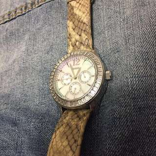 Guess watch (genuine leather)