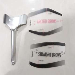 Straight Brows & Arched Brows by Benefit