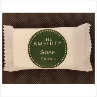 【正版】SHISEIDO THE AMENITY SOAP 植物泡泡沐浴皂
