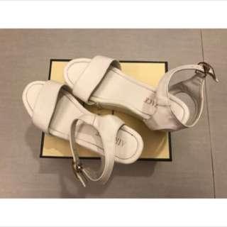 🚚 二手👉Air space厚底涼鞋