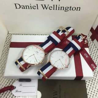 AUTH DW NYLON WATCHES