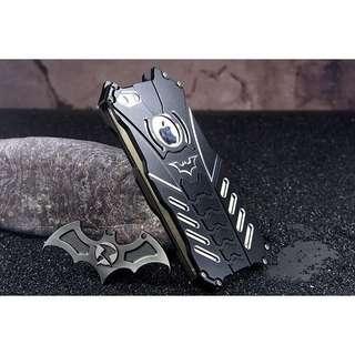 蝙蝠俠金屬包四邊電話殻 多款型號 附送鋼化玻璃膜及另外8樣配件