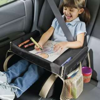 Waterproof Portable Table Sofa Car Seat Tray Storage  Infant Stroller Holder  Children Kid Baby Rattles Booster Seats