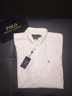 Ralph Lauren White Shirt Authentic Preloved