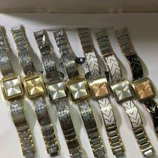 AUTH COACH RECTANGULAR STAINLESS