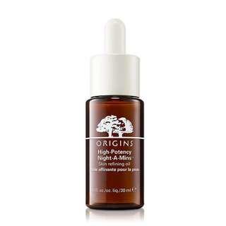 4折 Origins High-Potency Night-A-Mins Skin Refining Oil 酣夢活肌夜間修護精華油 30ml