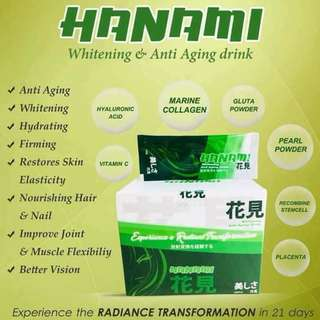 HANAMI WHITENING AND ANTI AGING DRINK