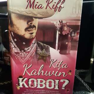 Malay Novel - kita kahwin Koboi