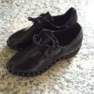 BN Studded Black Shoes