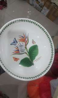 """Portmeirion 13"""" big low bowl"""