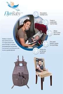 Flyebaby baby hammock / infant travel seat