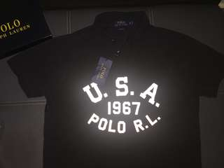 Ralph Lauren Army Polo Glow in The Dark Authentic Preloved