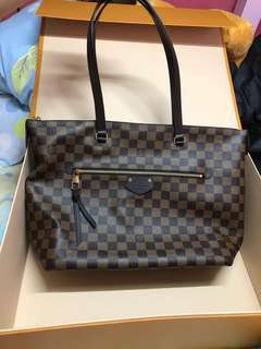 Lv Iena MM Damier Ebena Canvas
