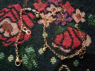 Stainless Gold Anklet Bracelet