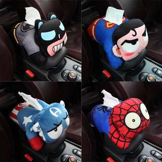 Marvels Heroes Tissue Box Cover