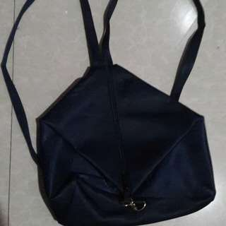 Dark blue bag