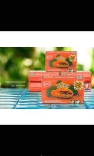 Papaya Kojic Honey AHA Herbal Soap Acne Whitening Treatment