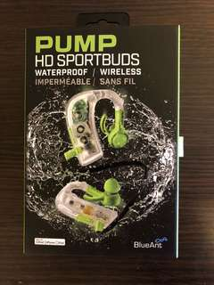Bluetooth Headphones - PUMP HD Sportsbuds
