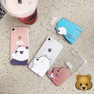 We Bare Bears Phone Case