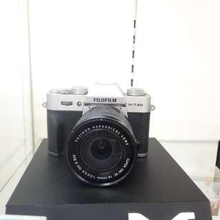Kamera FujiFilm X-T20 Lens 16-50 Cicilan DP 0%
