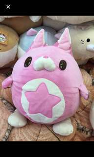 Colopl Rune Story Marshmallow filling star critter plush toy Japan original brand new sealed very squishy Japan original tags intact
