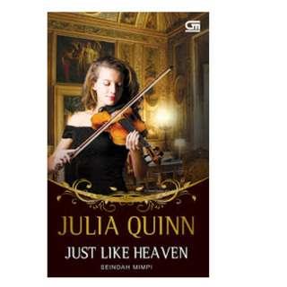 Ebook Seindah Mimpi (Just Like Heaven) - Julia Quinn