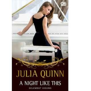 Ebook Selembut Kidung (A Night Like This) - Julia Quinn