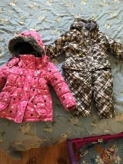 Winter Jacket for Toddlers (PINK JACKET SOLD)