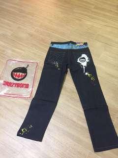 全新台灣品牌crazy bomb牛仔褲