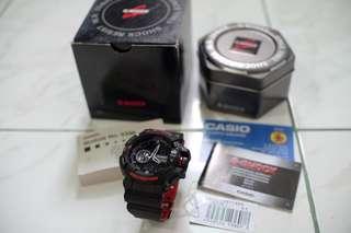 Casio G-Shock GA-400HR Black Red Limited Edition
