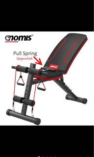 PROMO‼️🔥Gym Fitness Sit Up Dumbell Weight Lifting Bench
