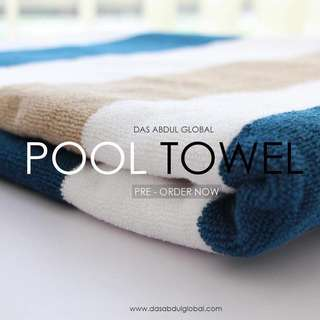High-class pool towel