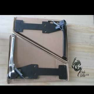 Vespa px side stand black/chrome