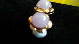 紫玉Jade Earrings