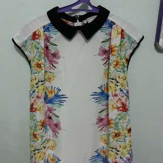 Floral Short Sleeves
