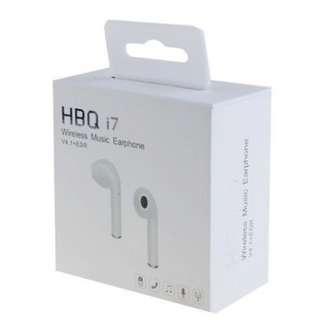 [BNIB] HBQ i7 (White) Wireless Music Earphone [Single Side]