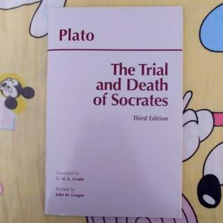 Plato The Trial and Death of Socrates Third Edition